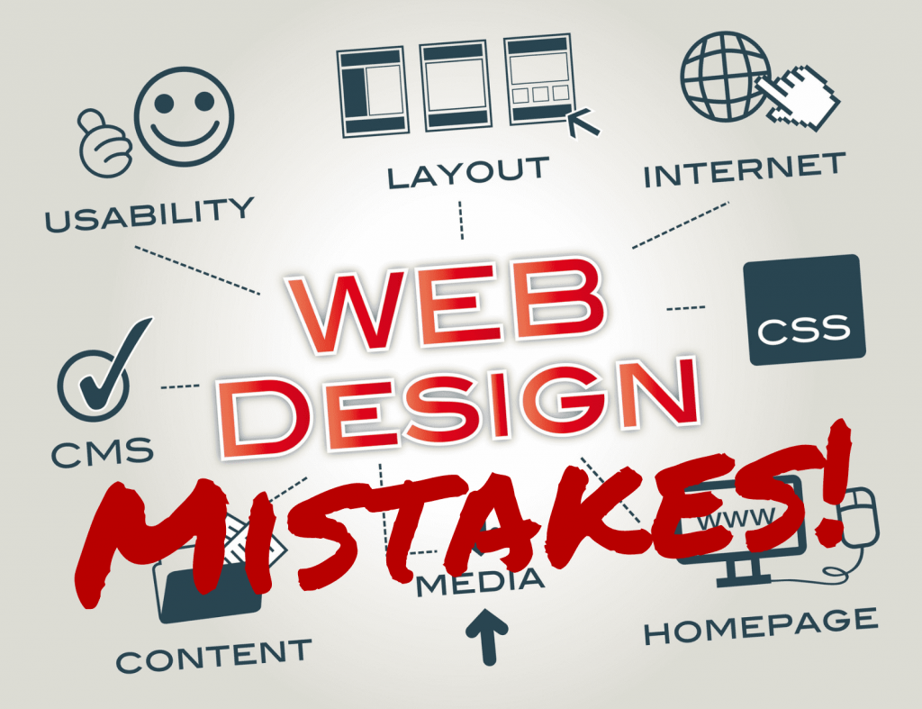 Top 17 Web Design Mistakes